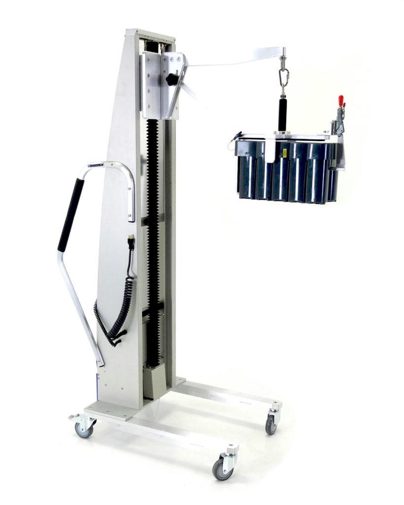 Handling Solutions For Battery Handling   Battery Lift   Battery Hoist   Alum-a-Lift