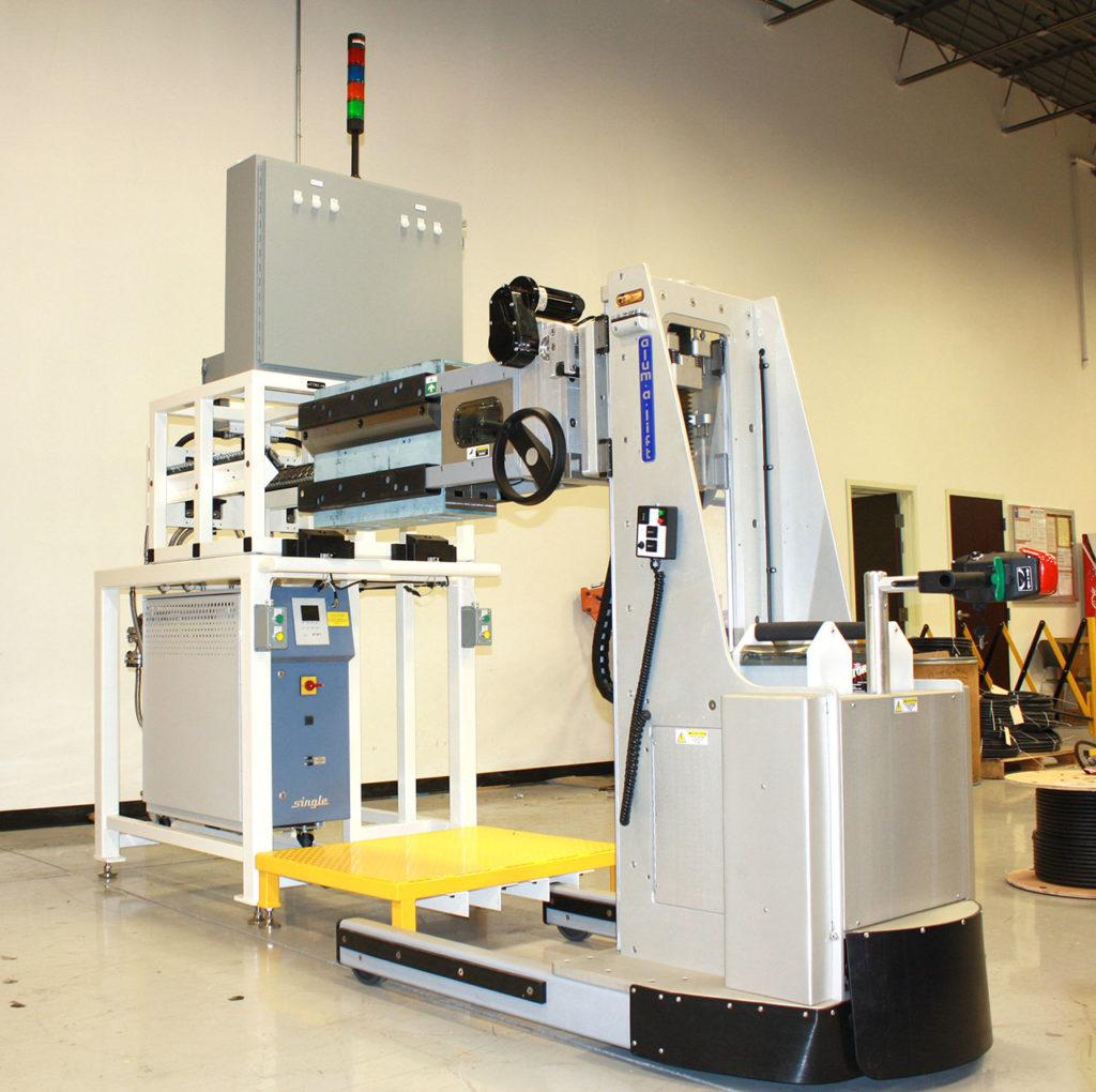 Defense Material Handling Solutions   Alum-a-Lift