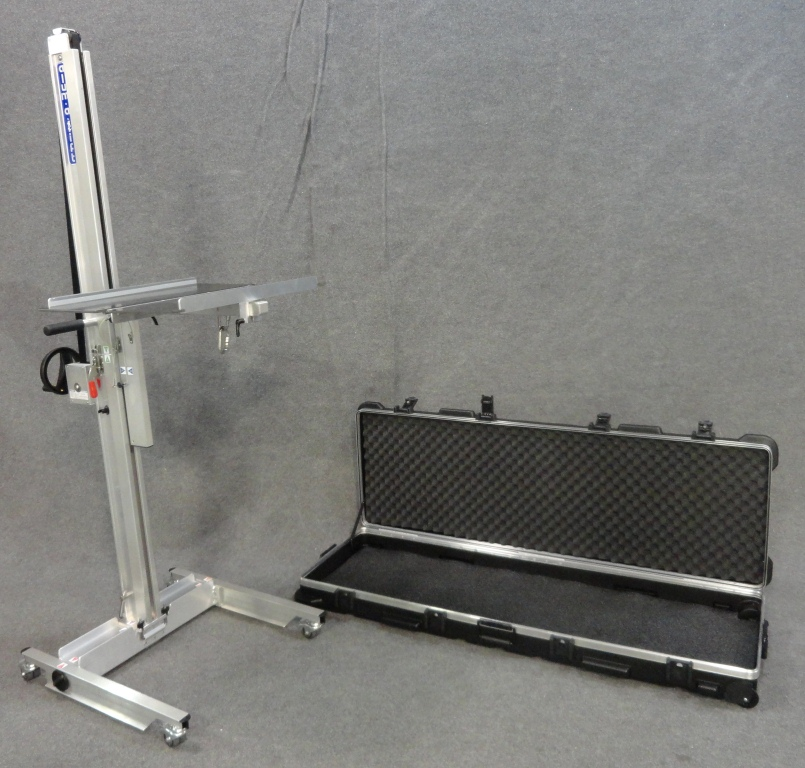 Field Service Trav-a-Lift with Folding Platform and Shipping Case