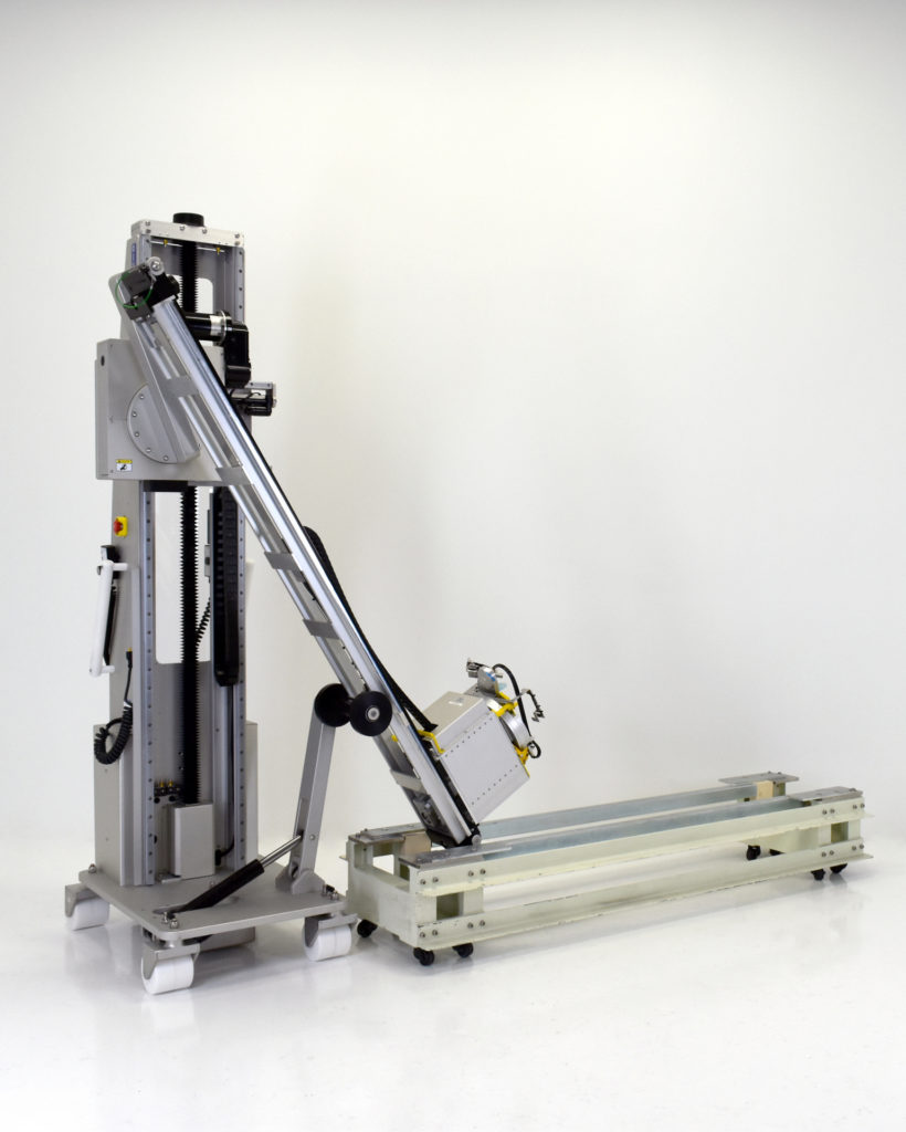 Semiconductor Clean Room Lift with Custom Robot Extractor