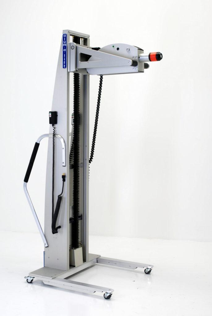 Expanding Mandrel Lift for Rotating Rolls