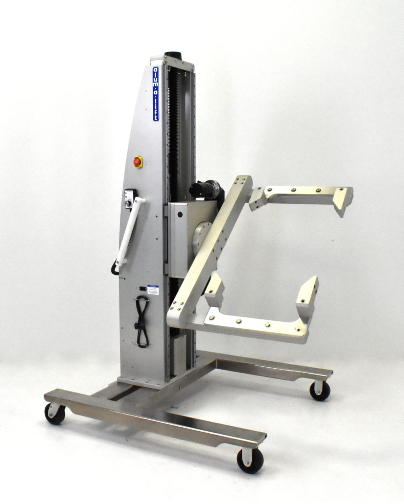 Portable Ergonomic Semiconductor Material Handling Workstation and Positioner