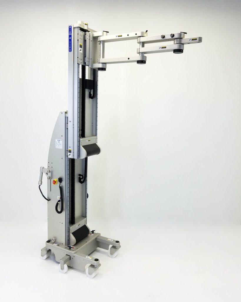 Multi-Purpose Ergonomic Material Handling Lift for Semiconductor Wafer Fab Cleanrooms