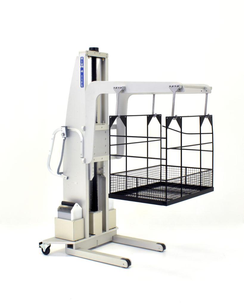 30235 Custom Cleanroom Material Handling System for Quartz Glassware